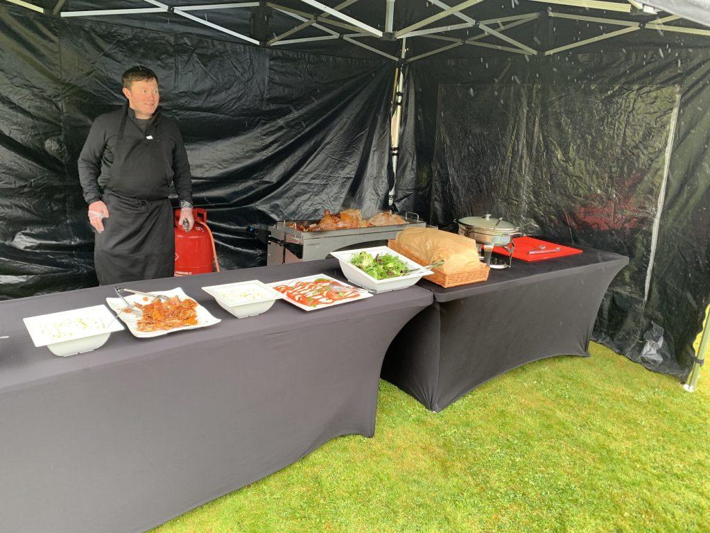 hog roast yamworth